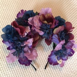 Purple and Lilac Boho Flower Crown